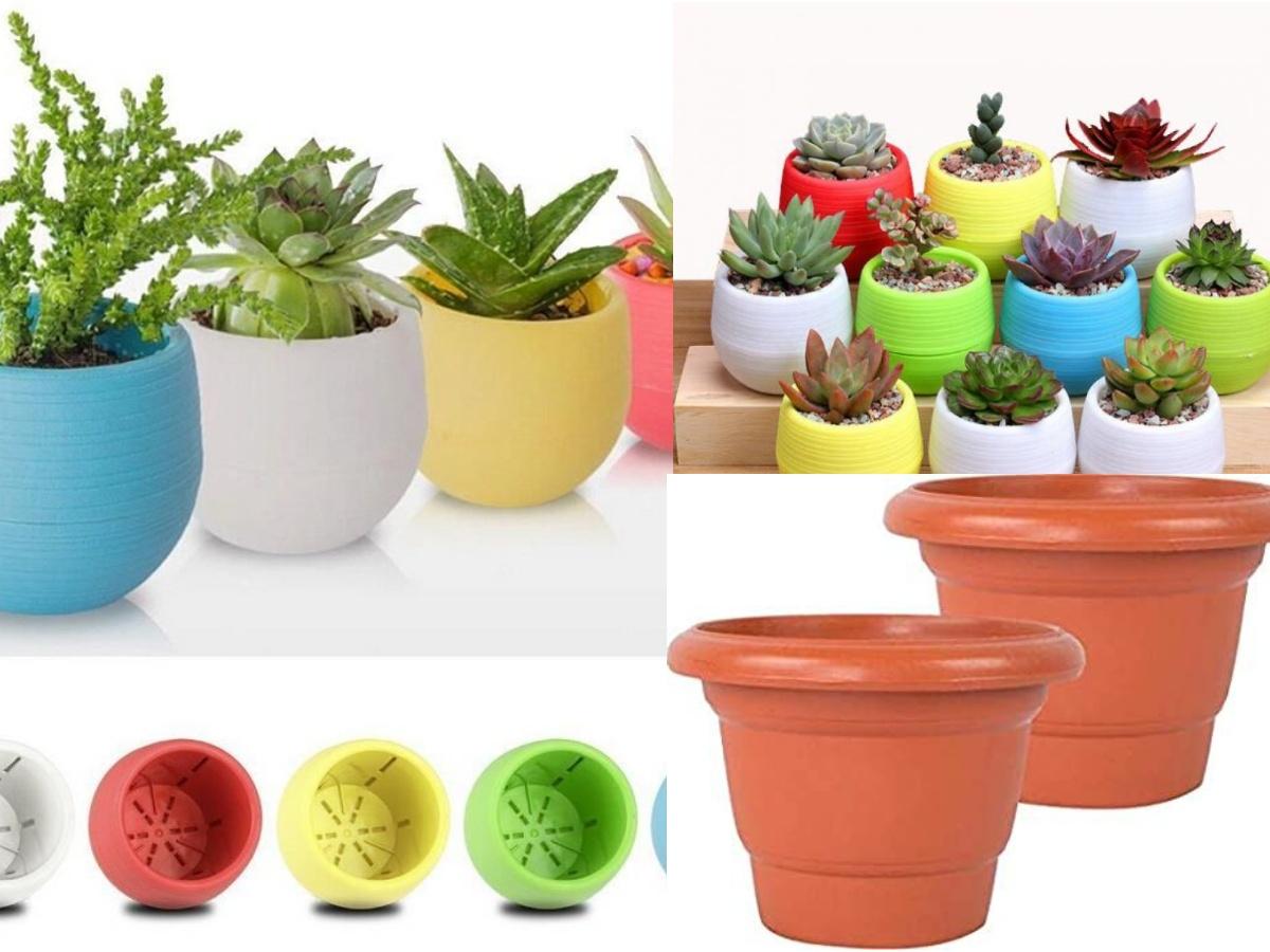 Flower Pots, Wall & Garden Planters