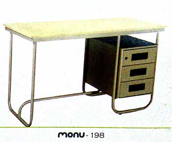 Three Seater Bench Table Kanpur India Maruti Steel Furniture